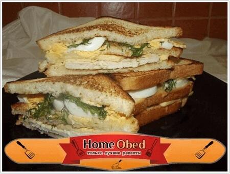 Французский сэндвич
