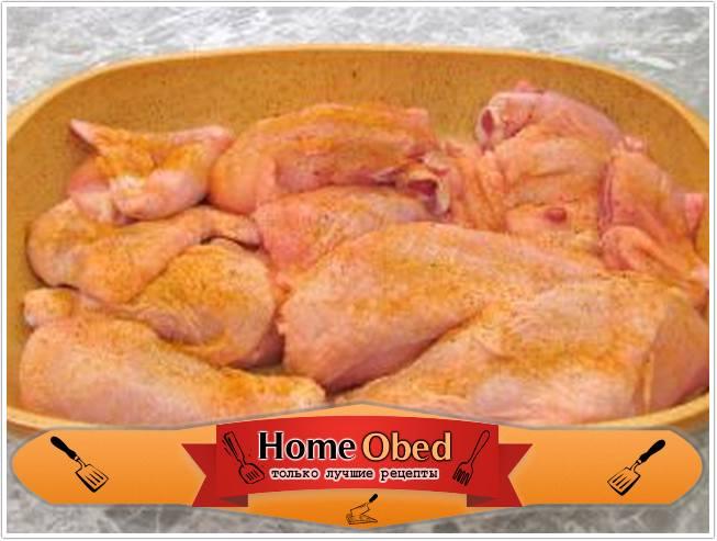 Рецепт пьяной курицы