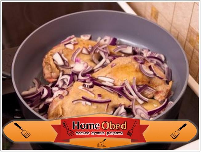 Окорочка утка с яблоками в духовке пошаговый рецепт