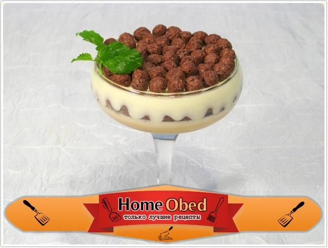 Десерт кофейно-сливочный