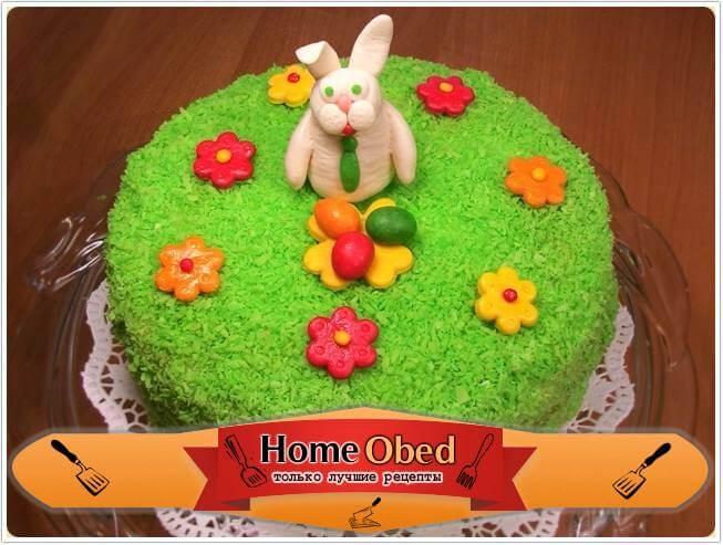 Украшение торта «Пасхальный»