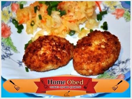 Рецепт приготовления сочных куриных котлет
